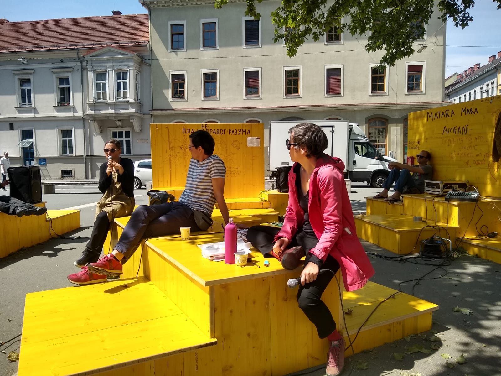 Bild zur Sendereihe Artistic places = places of healing – Role of artists in society (2nd part)
